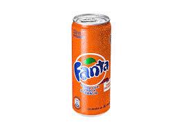 Refrigerante Fanta de Laranja em lata 330ml
