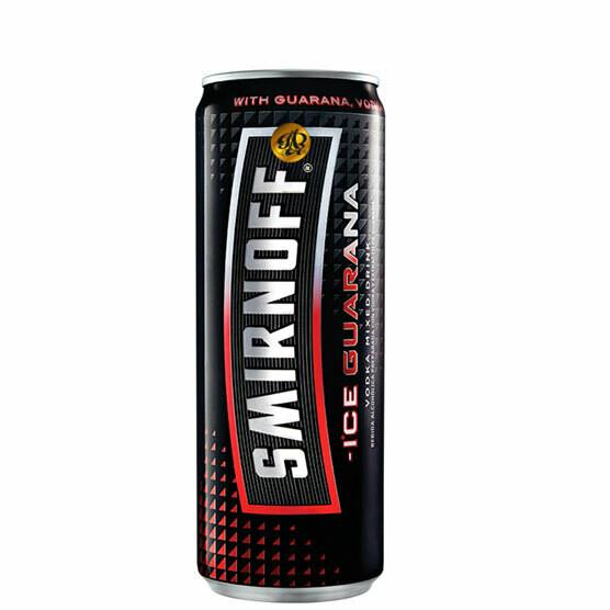 Smirnoff Guarana Sleek 330ml