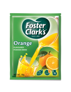 Sumo em Pó Laranja Foster Clarks 30g