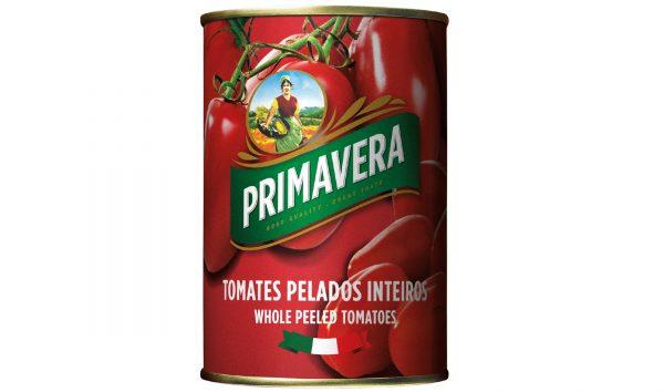 Tomate Pelado em Lata Primavera 400g