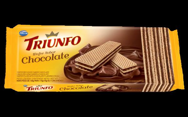 Wafer Chocolate Triunfo 115g