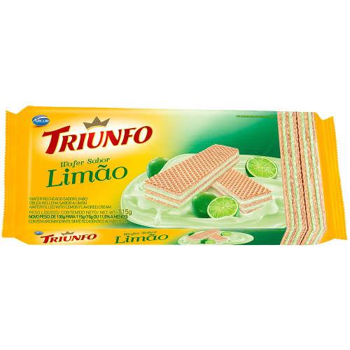 Wafer Limão Triunfo 115g