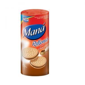 Bolacha Maria C/ Recheio de Chocolate Maná