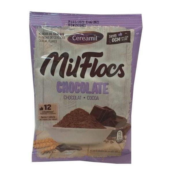 Cereais Mil Flocs Chocolate Cereamil 50g