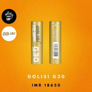 Bateria Golisi G30 18650