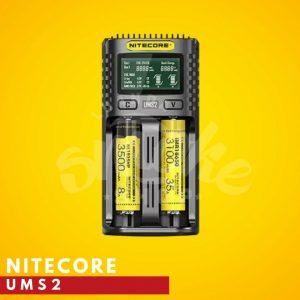 Carregador Nitecore UMS2