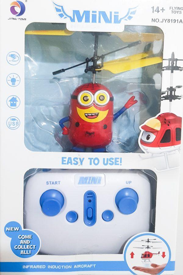 Mini Drone Minions Vermelho