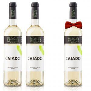Vinho  Caiado Branco Adega Maior 2018 em Garrafa 750ml [PROMOÇÃO Pague 2, Leva 3]