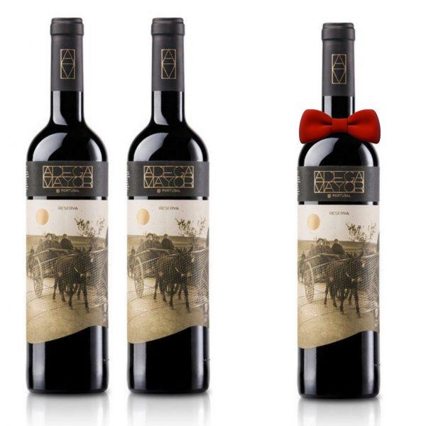 Vinho Reserva Tinto Adega Maior2017 em Garrafa 750ml [PROMOÇÃO Pague 2, Leva 3]