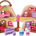 Casinha de Cogumelo Hello Kitty