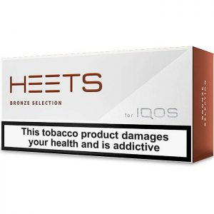 Cigarros Heets para IQOS 3 Duo Bronze Selection Maço de 20 Cigarros