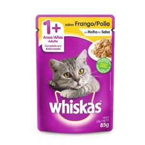Ração Whiskas para Gato Sabor Frango 10kg