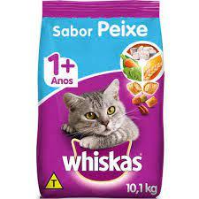 Ração Whiskas Para Gato Castrados Sabor de Peixe 10kg