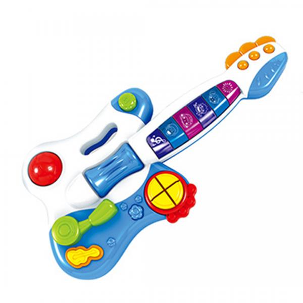 Guitarra Infantil Com Música e Luz