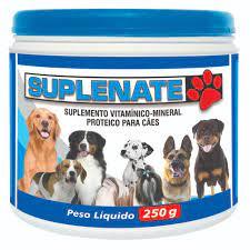 Suplemento Vitamínico Mineral Proteico Para Cães Suplenate 250g