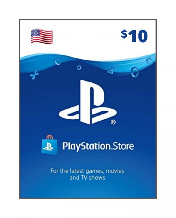 Playstation Network 10 usd USA
