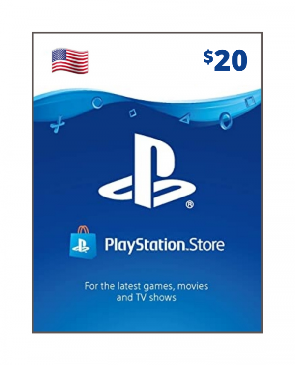 Playstation Store 20 usd USA