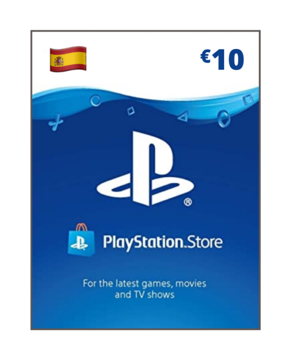 Playstation Network 10 Euros ES