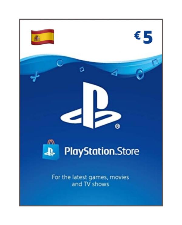 Playstation Network 5 Euros ES