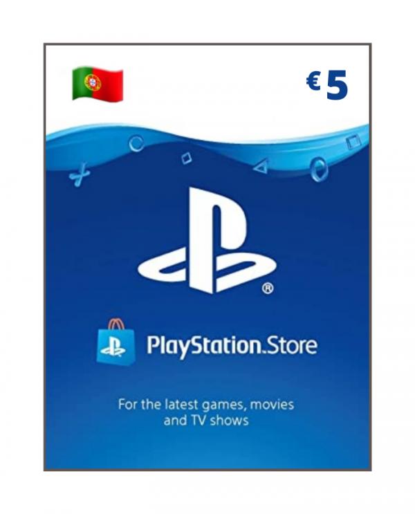 Playstation Store 5 euros PT