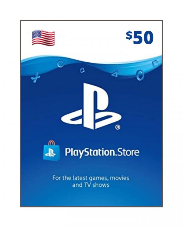 Playstation Network 50 usd USA
