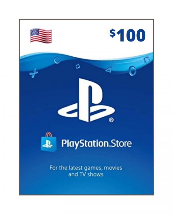 Playstation Network 100 usd USA