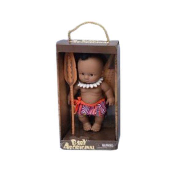Bebê Aboriginal Com Traje Típico