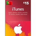 Cartão Apple Store e Itunes 15€