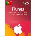 Cartão Apple Store e Itunes 25€