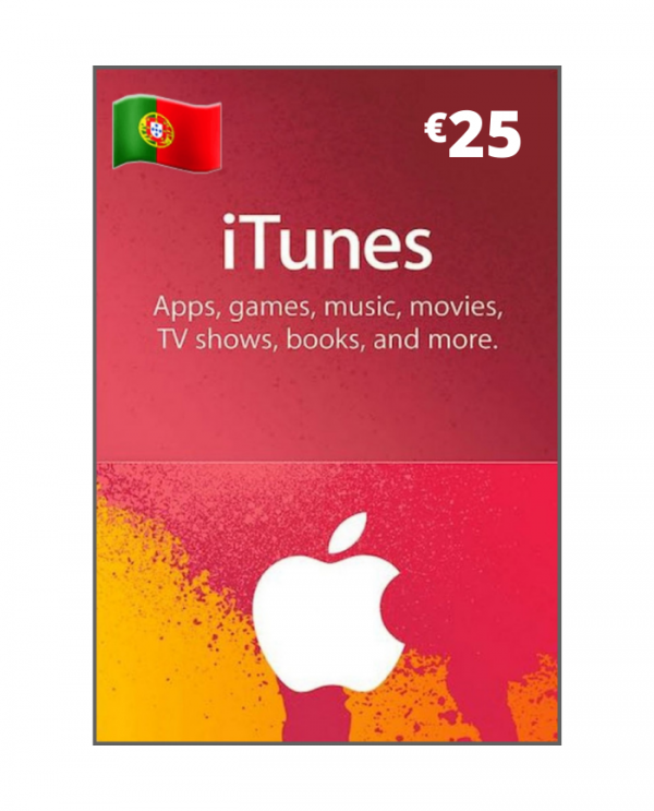 Apple Store & Itunes 25 Euros