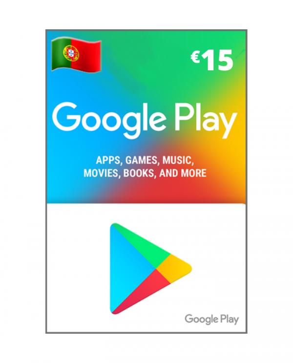 Google play 15 euros PT
