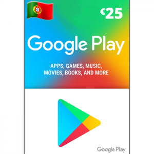 Google play 25 euros PT