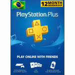 Cartão Playstation.PLUS 12M BR