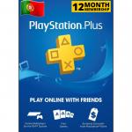 Cartão Playstation.PLUS 12M PT