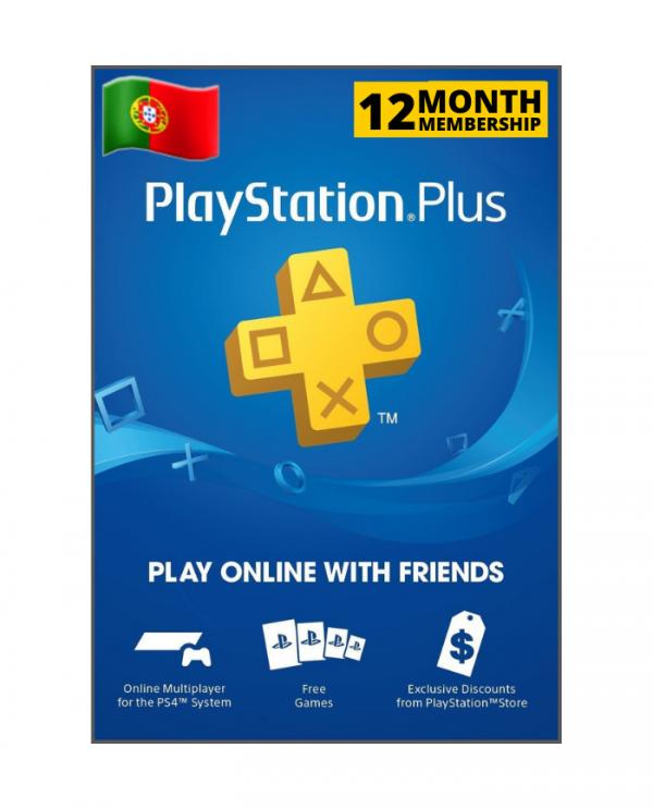 Playstation Plus 12 meses PT