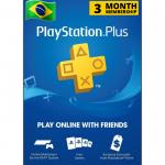 Cartão Playstation.PLUS 3M BR