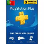 Cartão Playstation.PLUS 3M PT