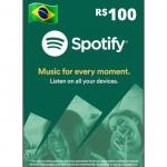 Cartão Spotify Premium 100R$ – 6 Meses