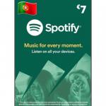 Cartão Spotify Premium 7€ – 1 Mês