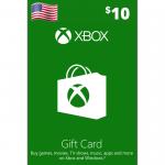 Cartão Xbox 10$