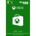 Cartão Xbox 100R$