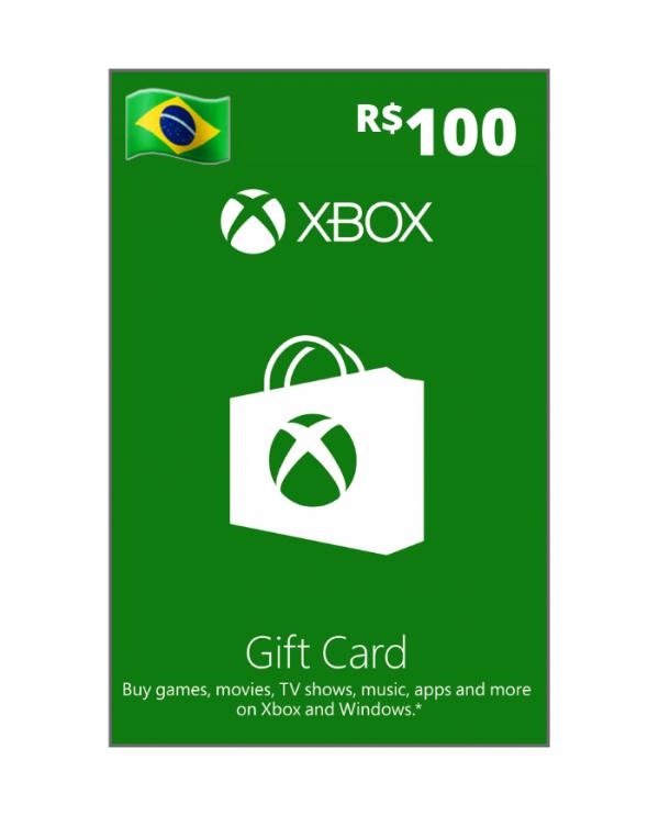 Xbox 100 reais BR