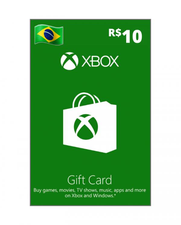 Xbox 10 reais BR