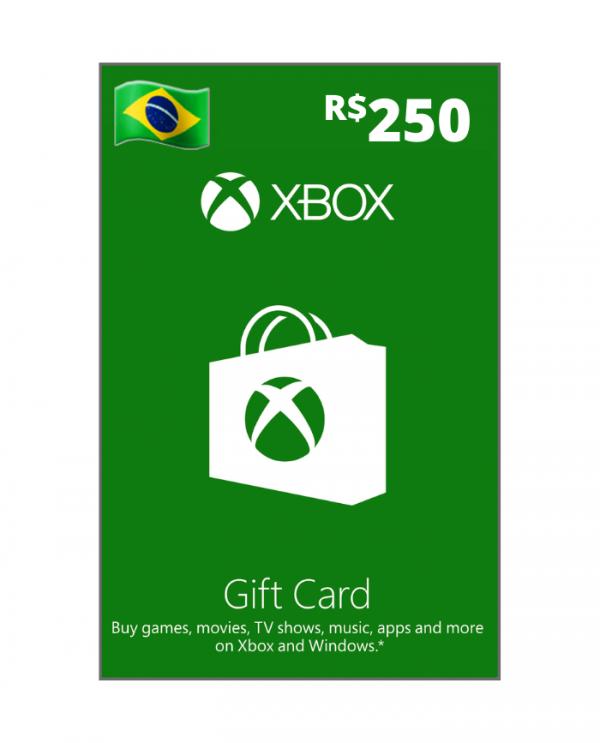 Xbox 250 reais BR