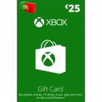 Cartão Xbox 25€