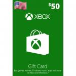 Cartão Xbox 50$
