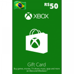 Cartão Xbox 50R$