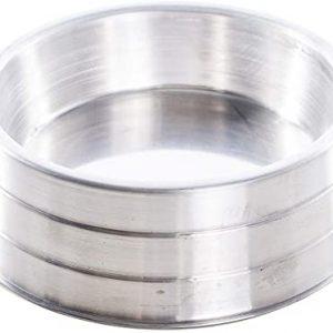 Comedouro aluminio pesado grande 2800ml