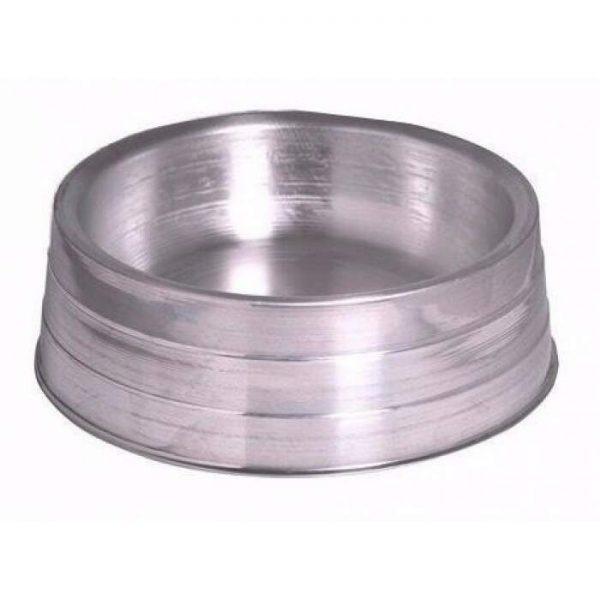 Comedouro aluminio pesado medio 2300ml