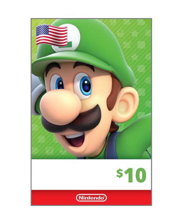 Nintendo eShop 10 usd USA